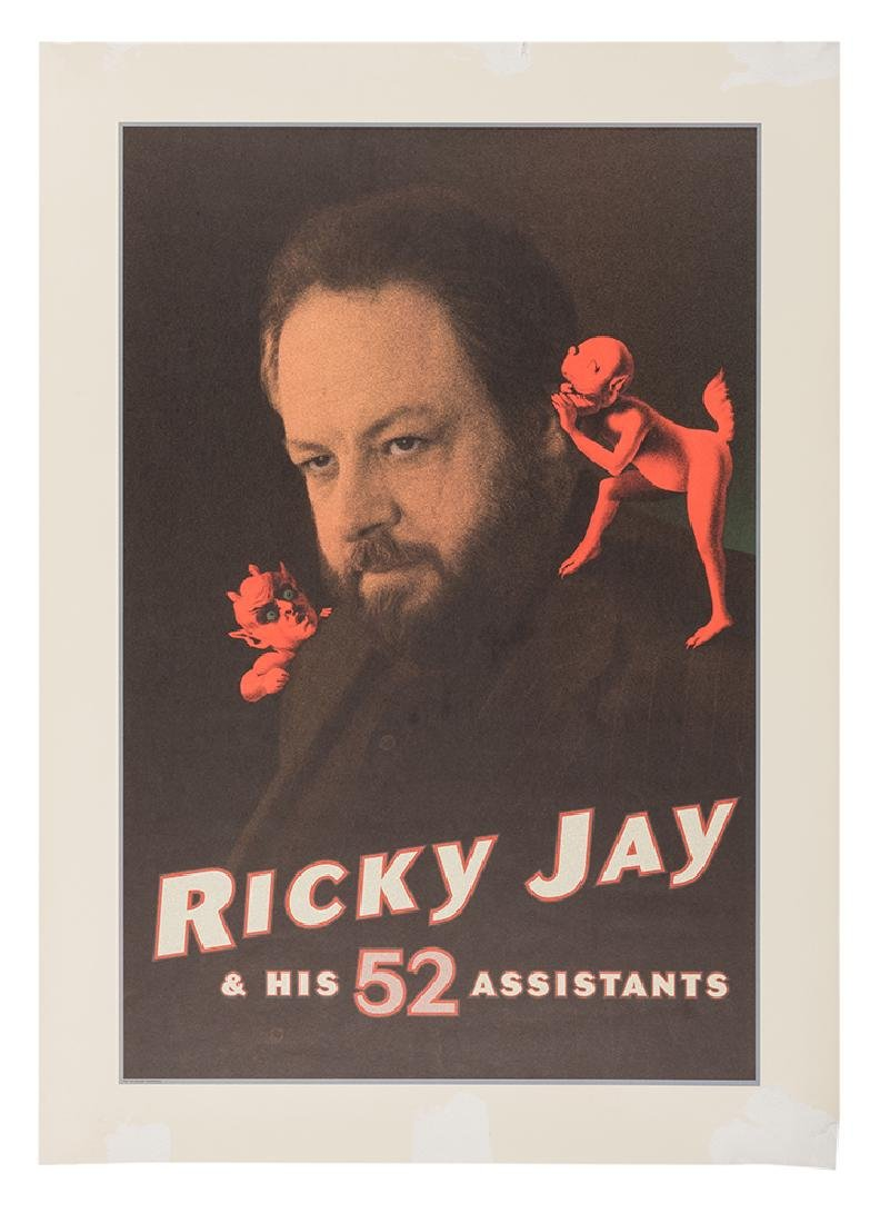 Ricky Jay & His 52 Assistants. [