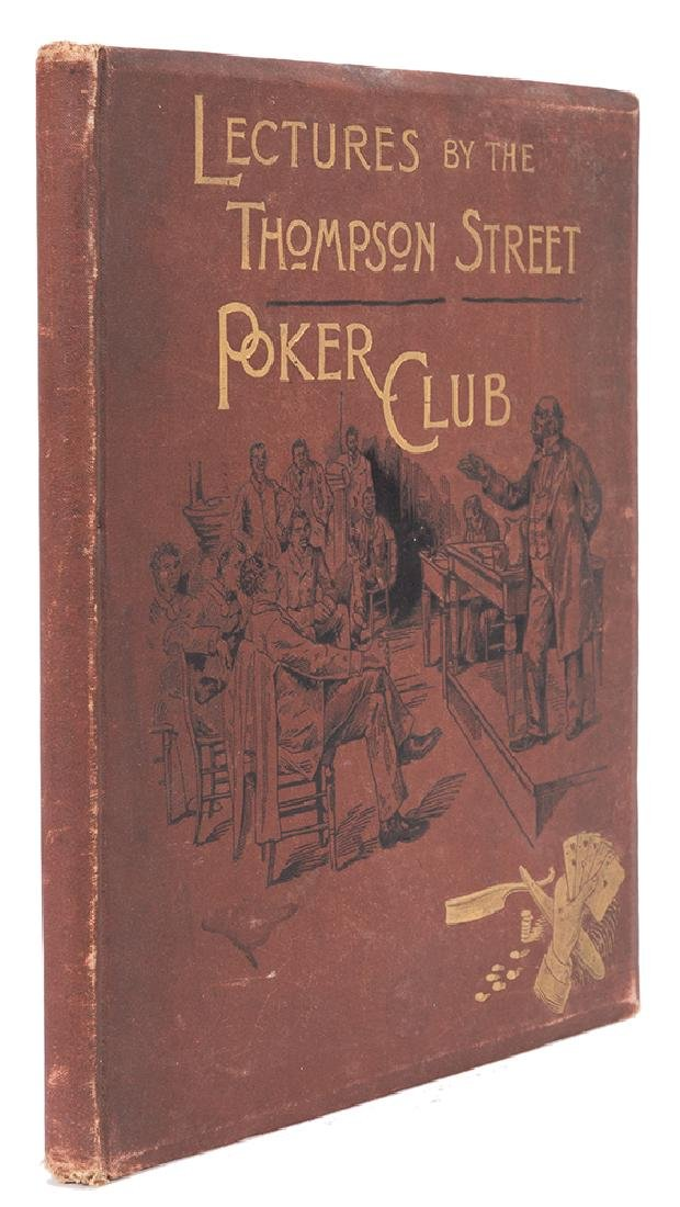 Lectures Before the Thompson Street Poker Club.
