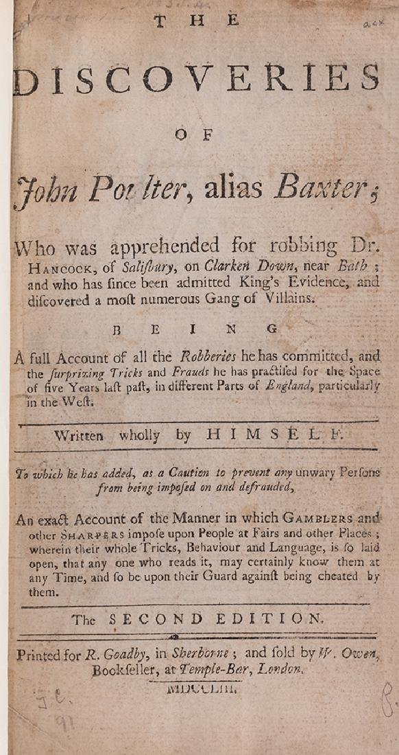The Discoveries of John Poulter.