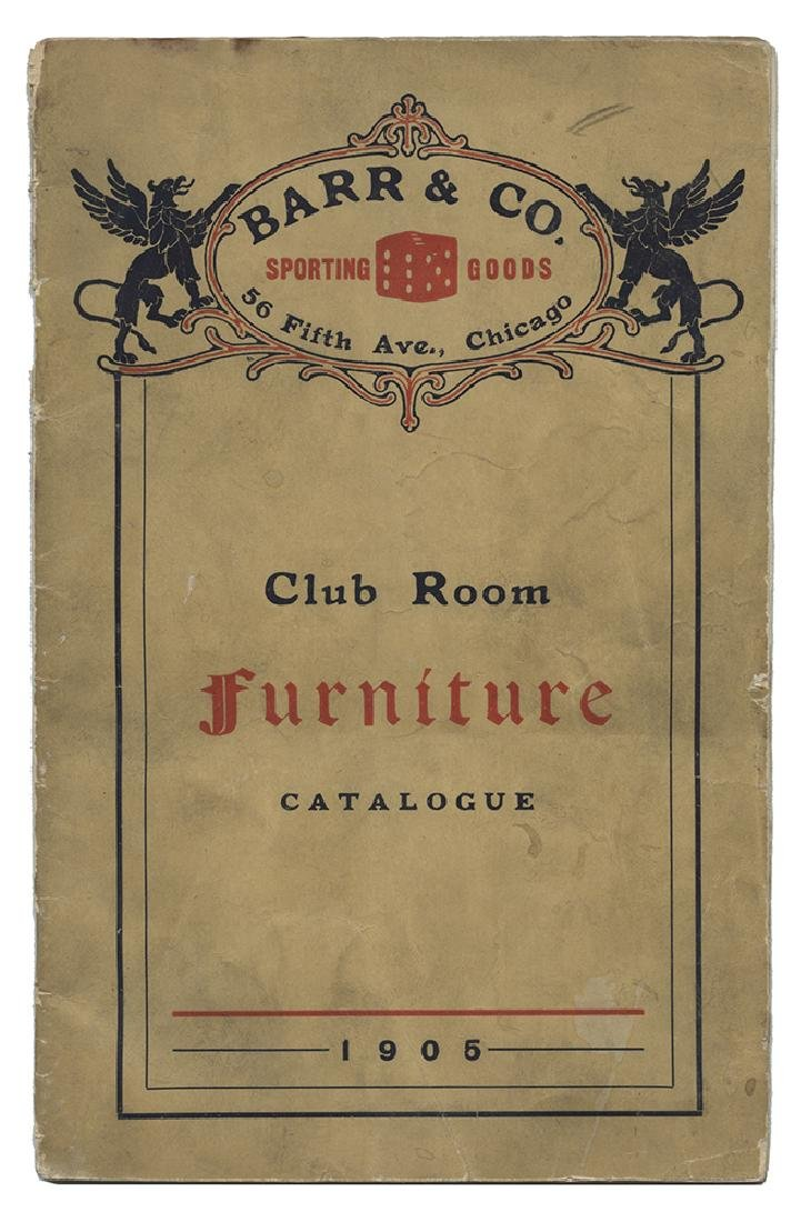 "Barr & Co. ""Club Room Furniture"" Gambling Catalog."