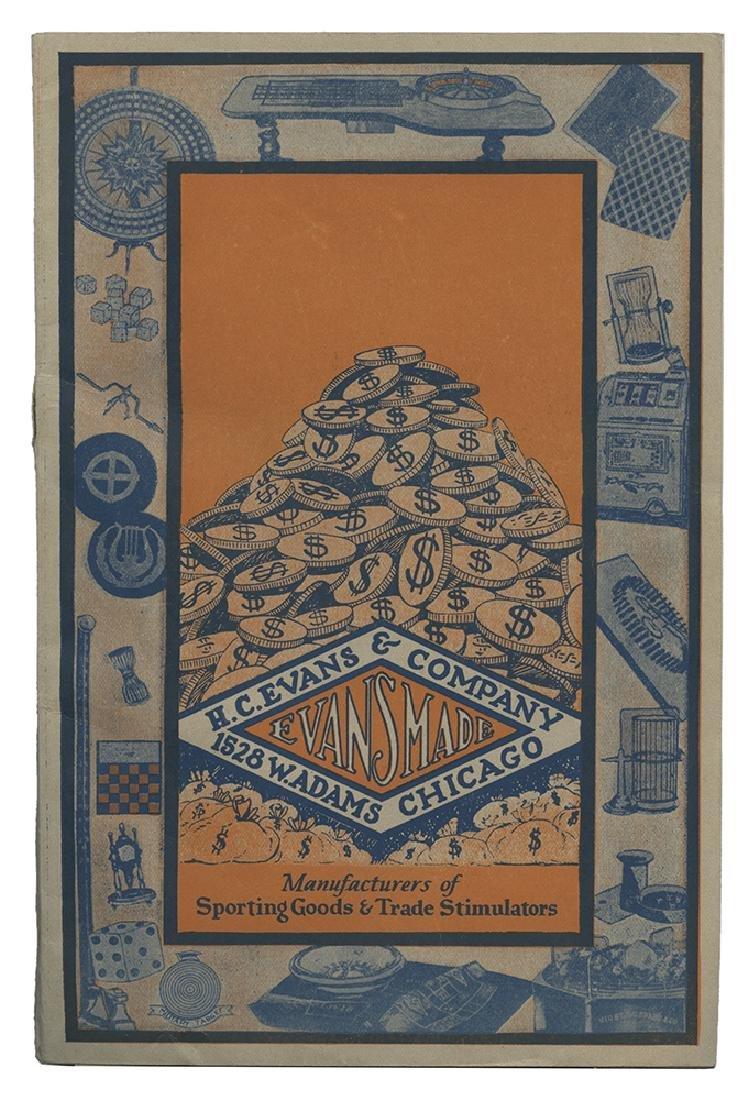 H.C. Evans Gambling Supply Catalog.