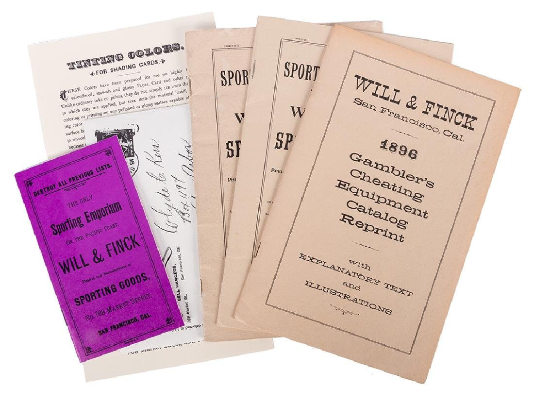 Will & Finck Co. Four Reproduction Catalogs.
