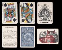 Excelsior Playing Card Co. Marked Deck Playing Cards.