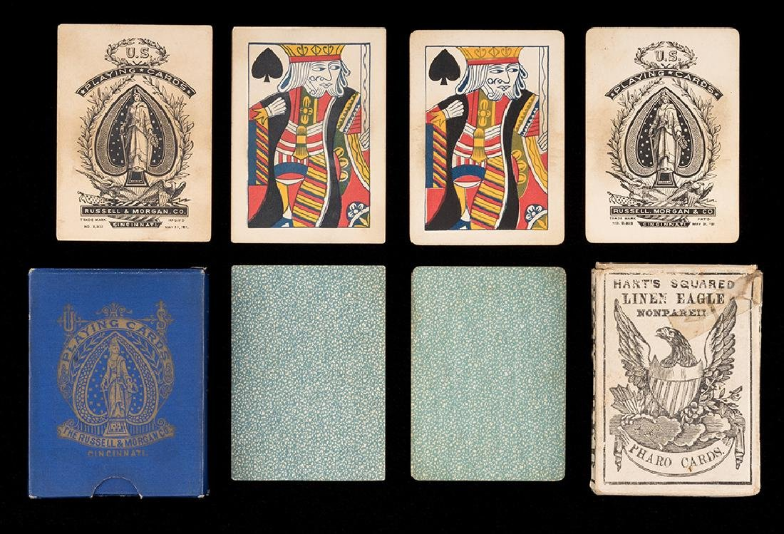 Two Decks Faro Playing Cards.