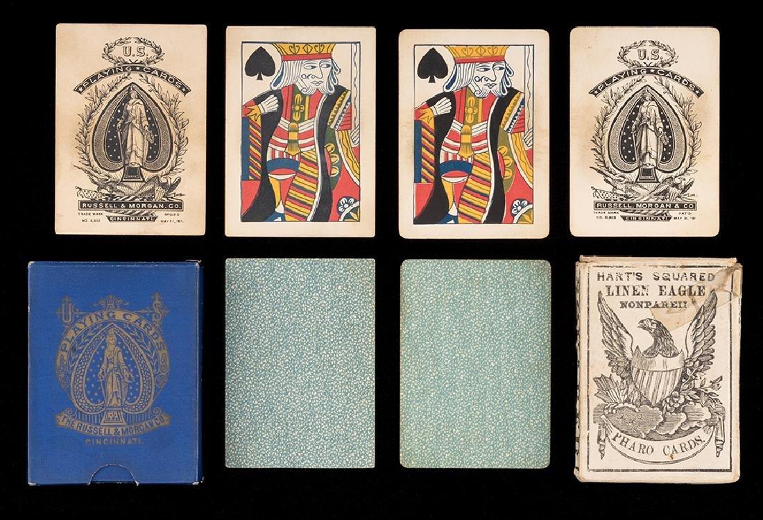 Two Decks Faro Playing Cards.