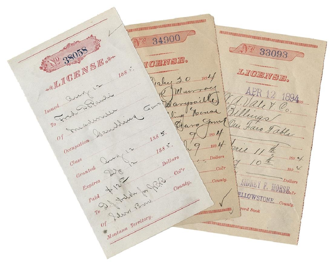Three Faro Licenses.