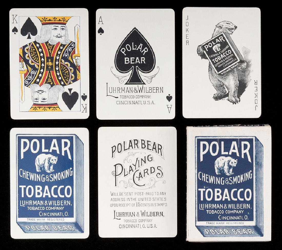 Polar Smoking and Chewing Tobacco Playing Cards.