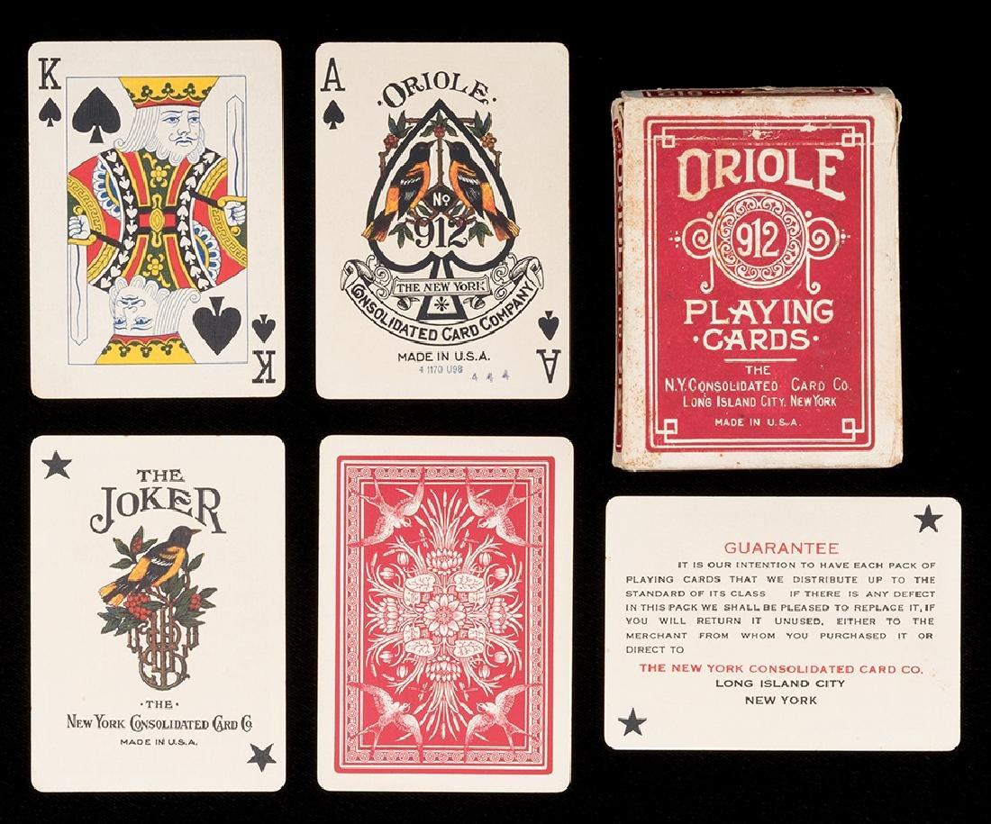 Oriole 912 Playing Cards.