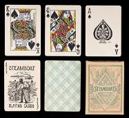 Two Steamboat Radium Decks of Playing Cards