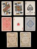 Two Poker Buffalo Karten No 223 Decks Playing Cards