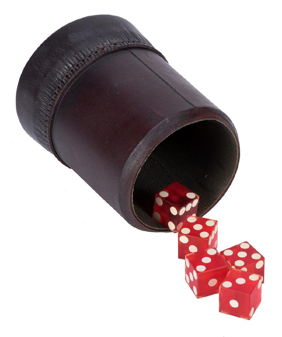 Leather Whip Cup.