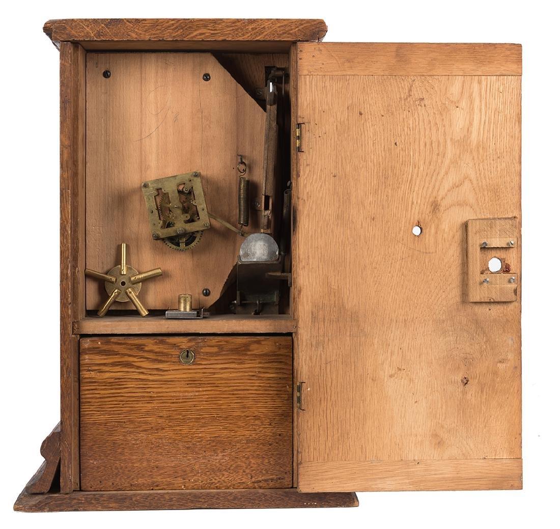 U.S. Novelty Co. 5 Cent Clockwork Trade Stimulator. - 2