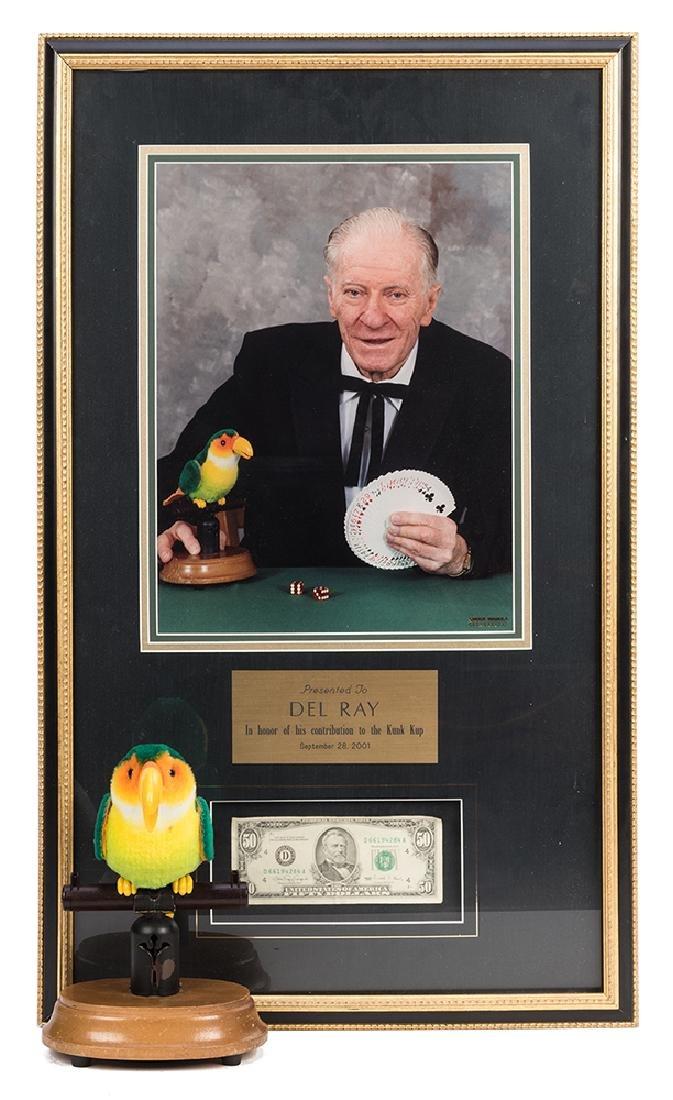 Del RayÕs Card Finding Bird and Fifty Dollar Bill.
