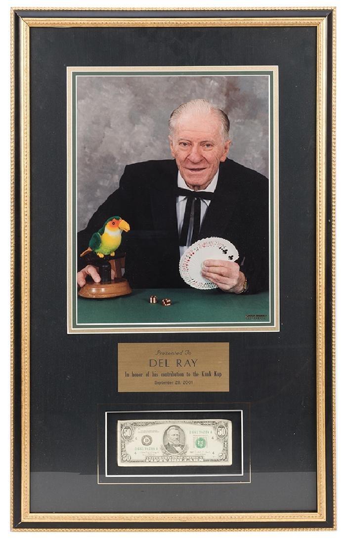 Del RayÕs Card Finding Bird and Fifty Dollar Bill. - 2