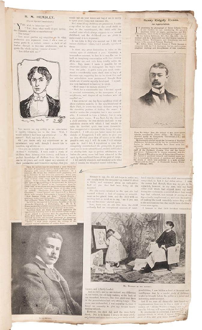 A Scrapbook of 19th and Early 20th Century Magic - 6