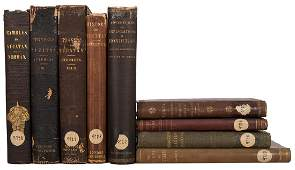 Nine Volumes on Travel and Exploration in Central