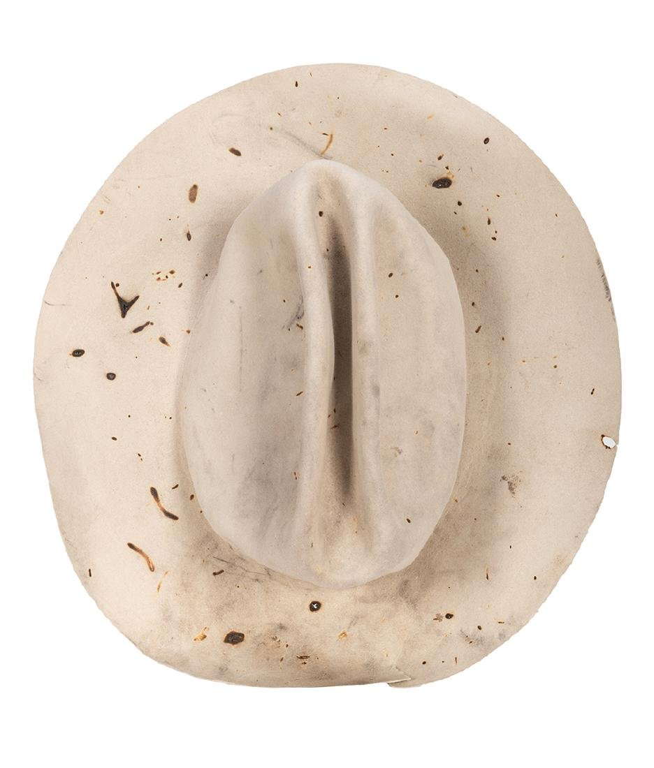 George Bush Personally Owned and Monogramed Cowboy Hat.