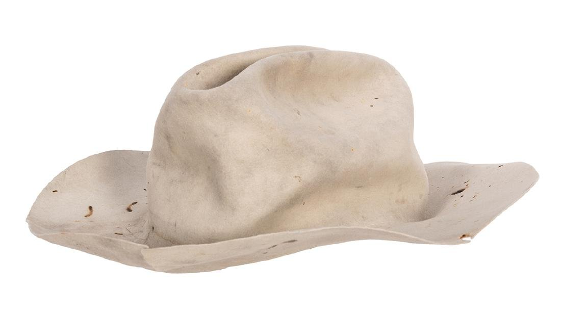 George Bush Personally Owned and Monogramed Cowboy Hat. - 2