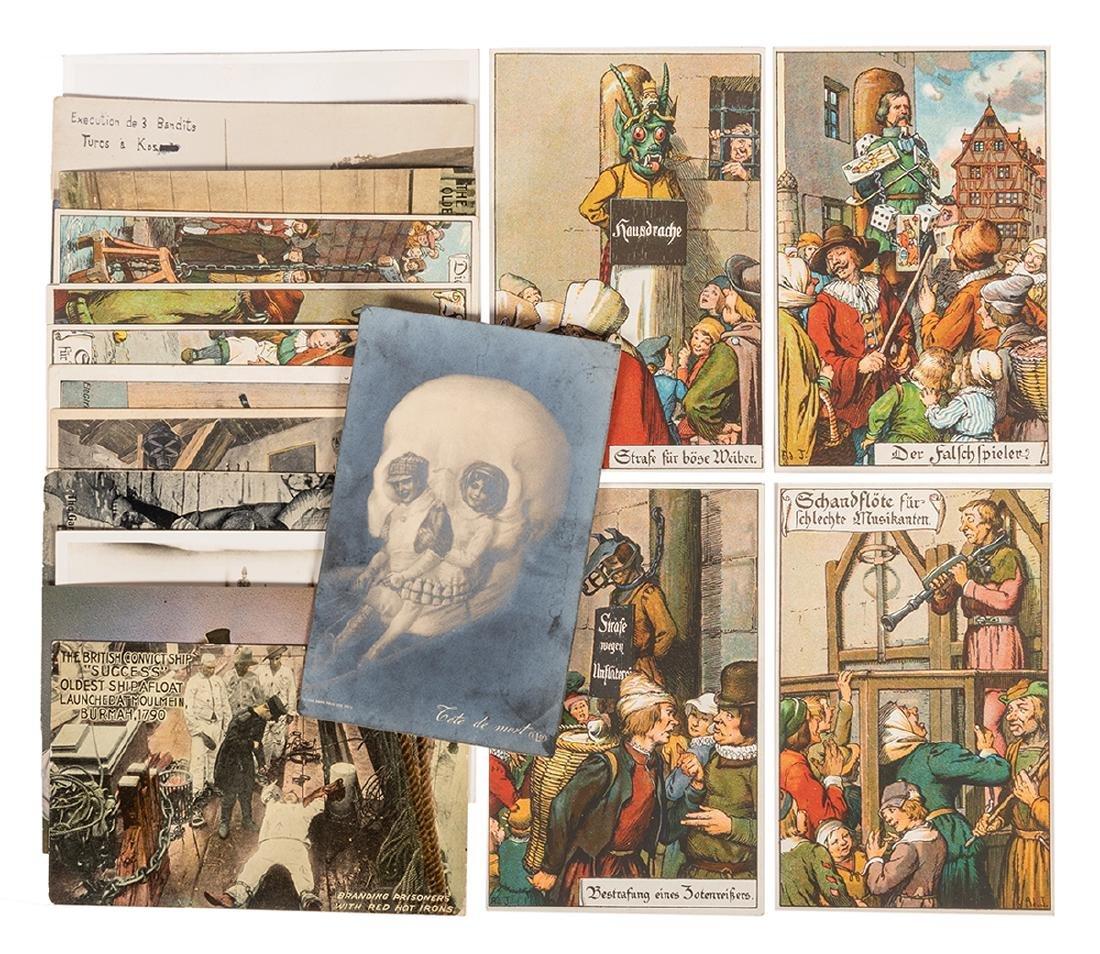 Morbid Interest Postcard Collection.