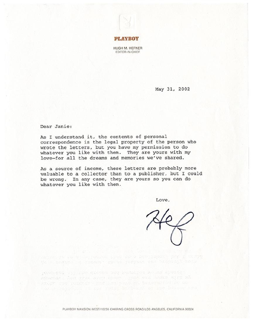 Extensive Archive of Early Hugh Hefner Correspondence. - 5