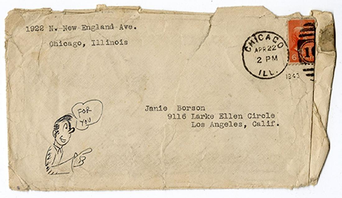 Extensive Archive of Early Hugh Hefner Correspondence. - 8