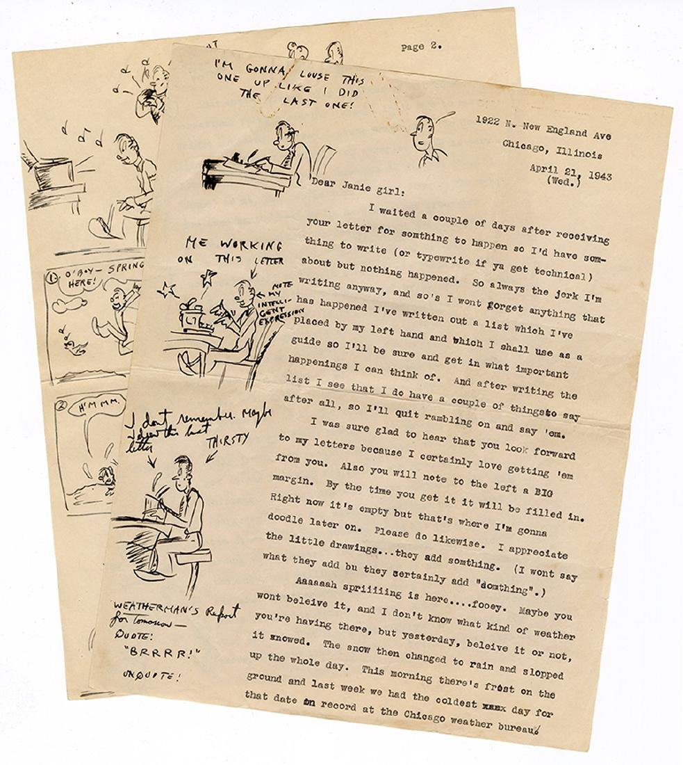 Extensive Archive of Early Hugh Hefner Correspondence. - 9