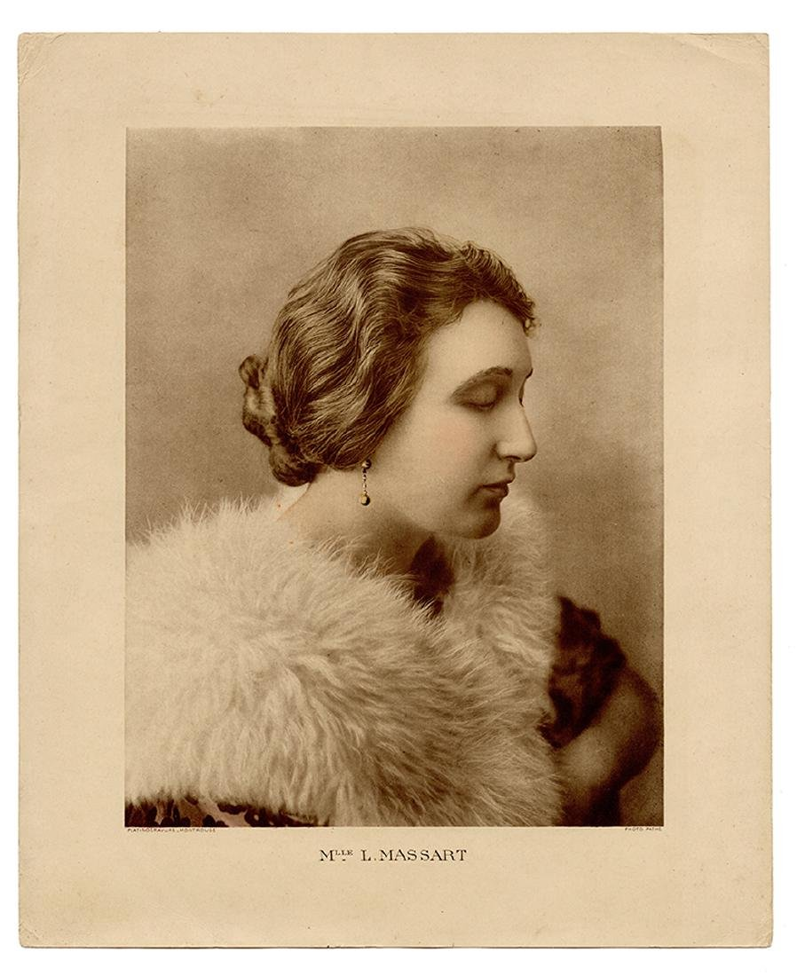 Group of Photos of French Silent Film Actress Leontine