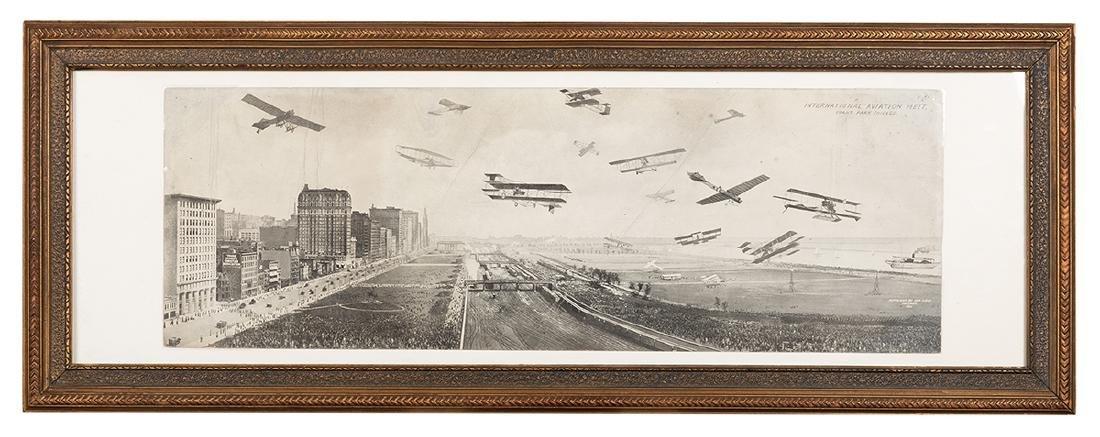 International Aviation Meet. Grant Park, Chicago.