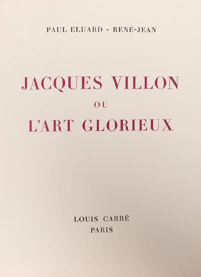 Jacques Villon ou L'Art Glorieux. - 2