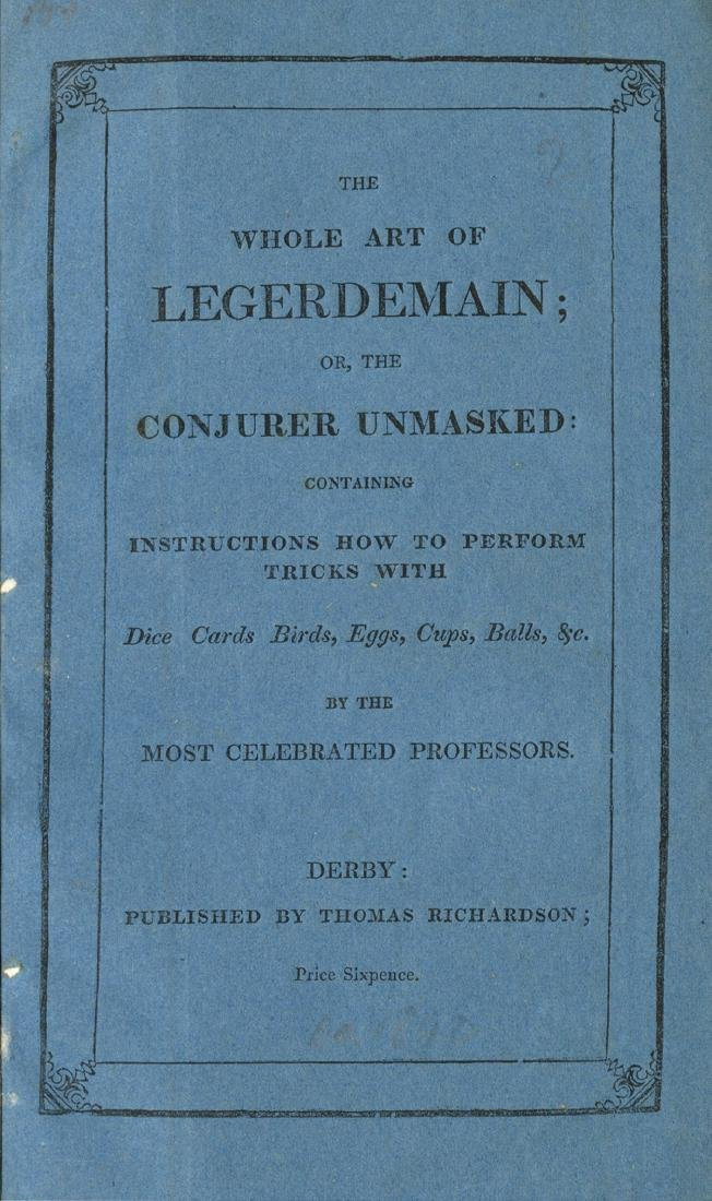 The Whole Art of Legerdemain; or, The Conjurer - 3