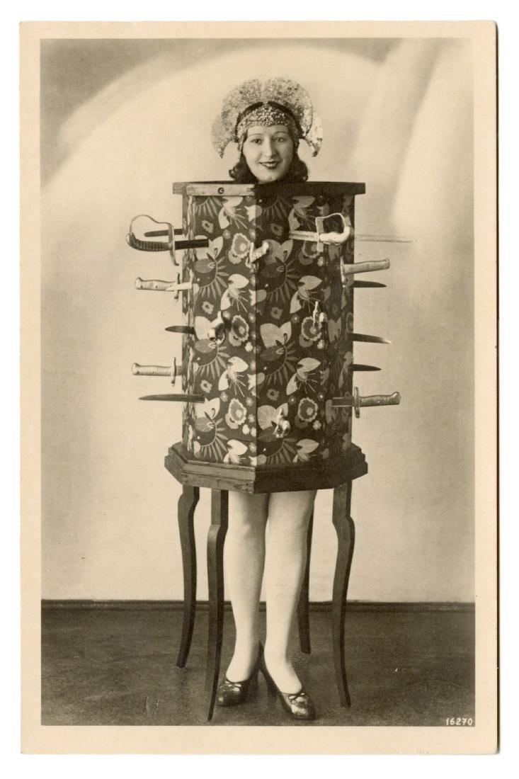 Collection of Vintage Magicians' Photographs and - 7