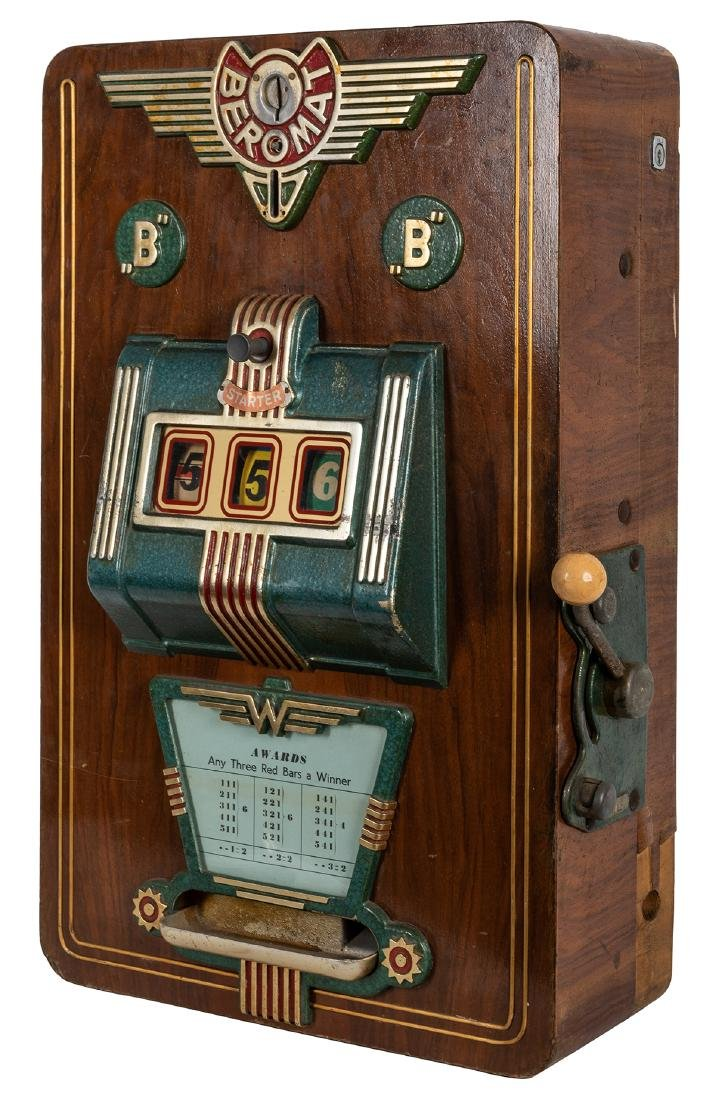 "Günter Wolff ""Beromat"" Slot Machine."