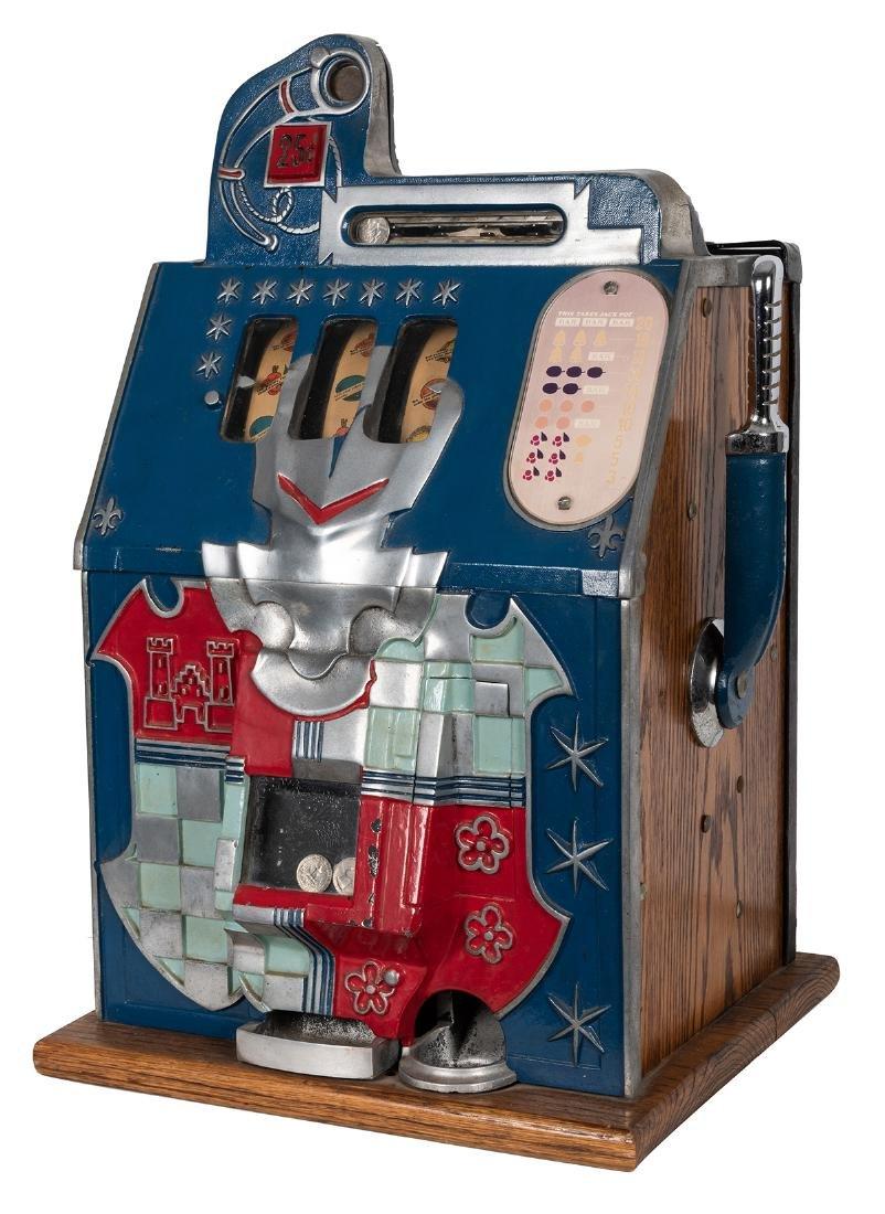 Mills 25 Cent Castle Front Slot Machine.