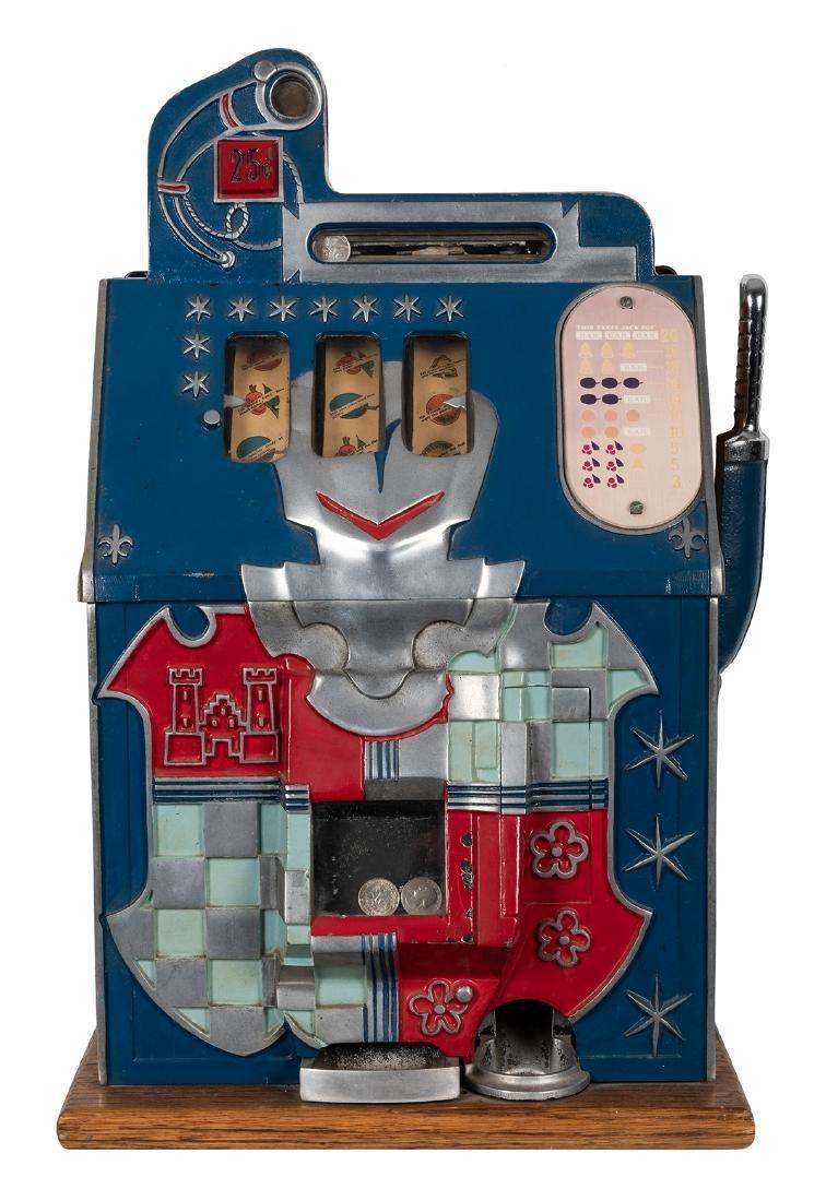 Mills 25 Cent Castle Front Slot Machine. - 2