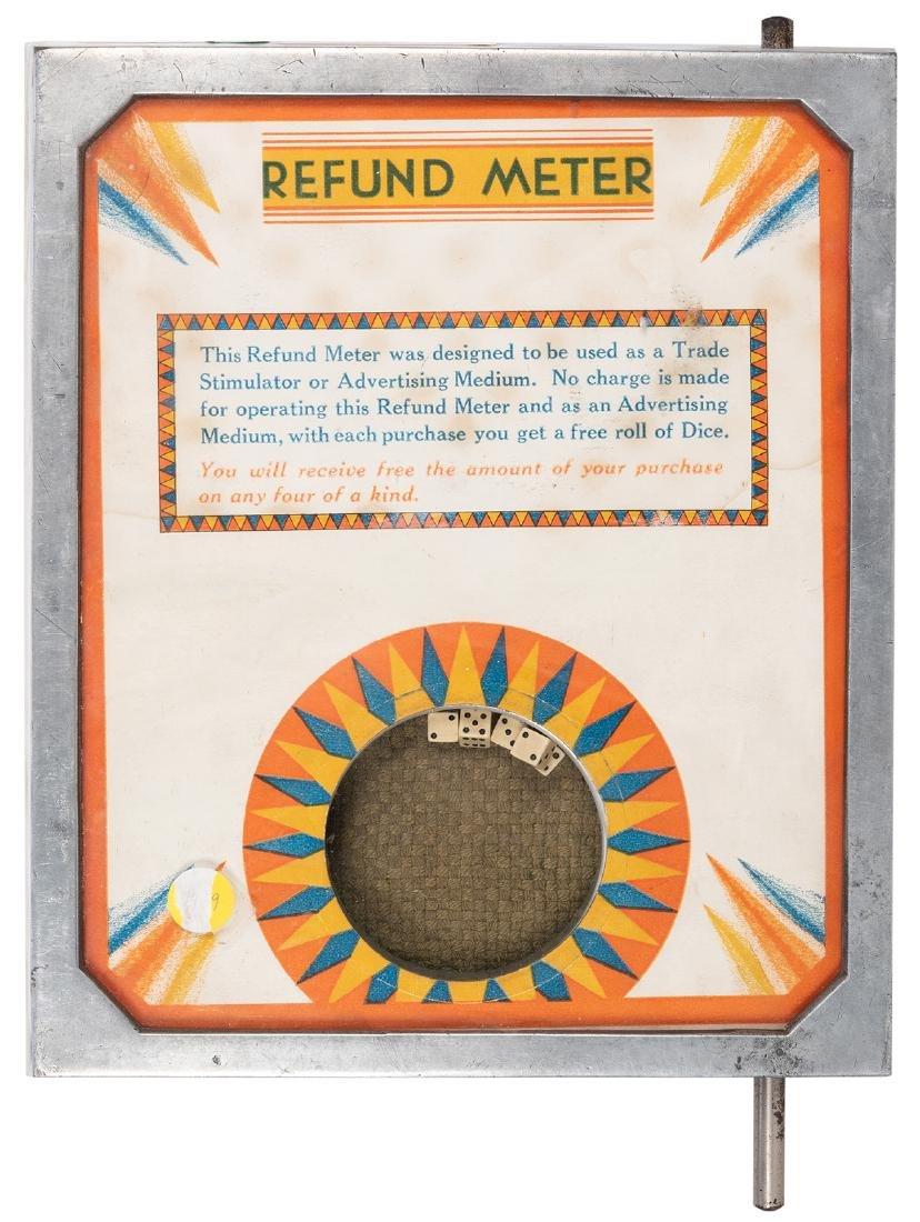 Refund Meter Dice Trade Stimulator.