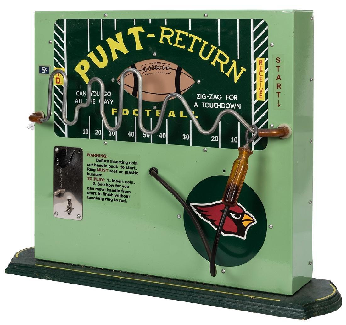 Football Punt Return 5 Cent Booze Barometer.