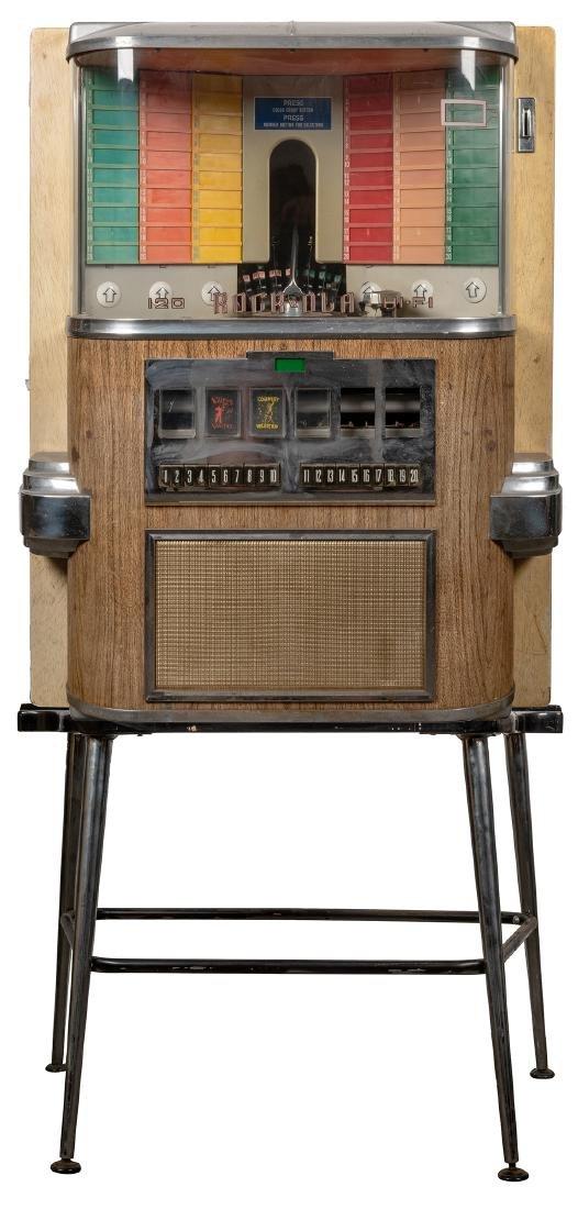 "Rock-Ola 1958 Model 1464 ""Music Vendor"" 120 Selection"