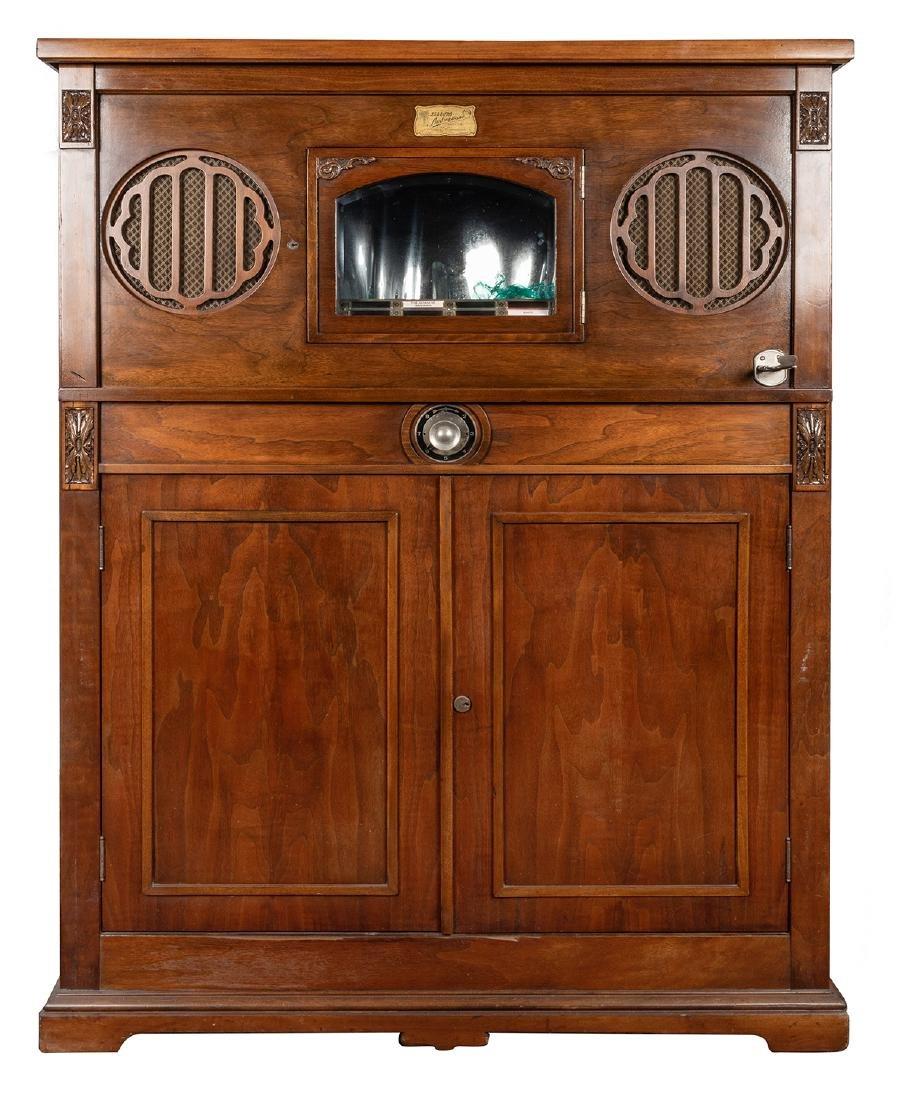 Seeburg 1920s Audiophone Jukebox. Eight-Selection 78