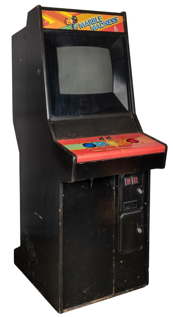 Marble Madness 25 Cent Upright Video Game.