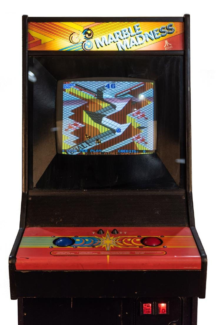 Marble Madness 25 Cent Upright Video Game. - 3