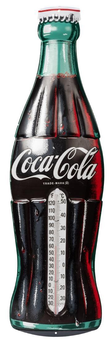Two Coca-Cola Thermometers.