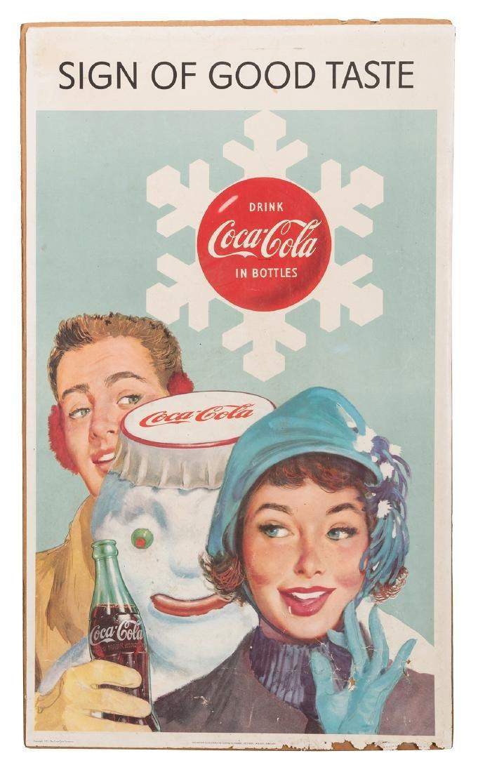 Drink Coca-Cola / Sign of Good Taste Calendar.