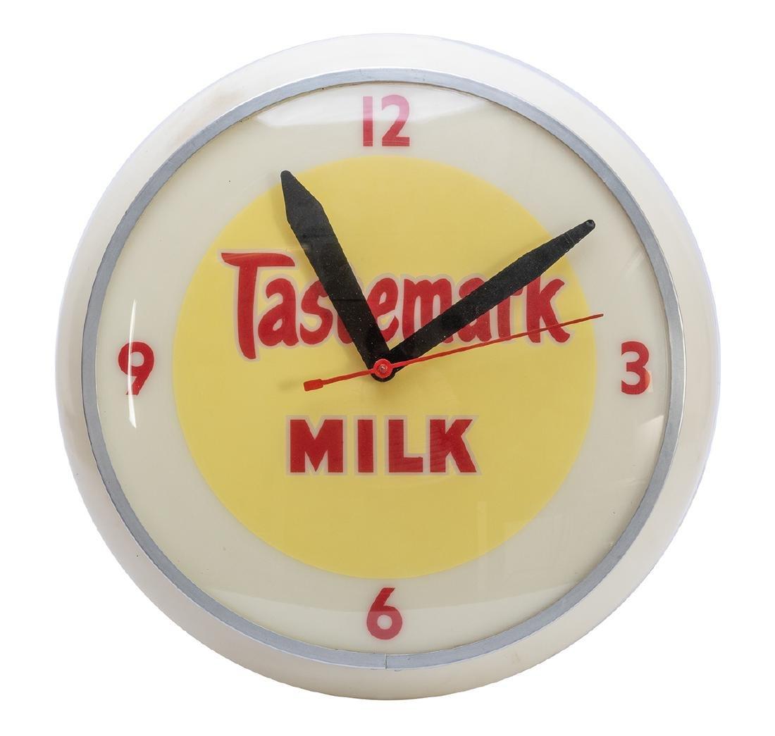 Tastemark Milk Wall Clock.