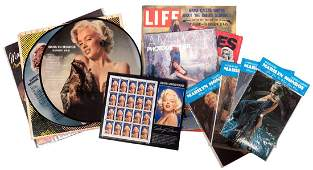 Group of Marilyn Monroe Pinup Magazines and
