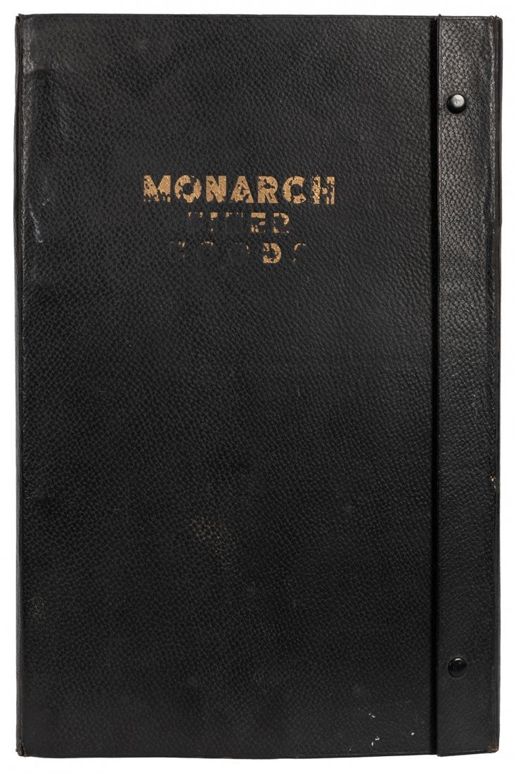 Monarch Finer Foods Salesman Sample Portfolio. - 10