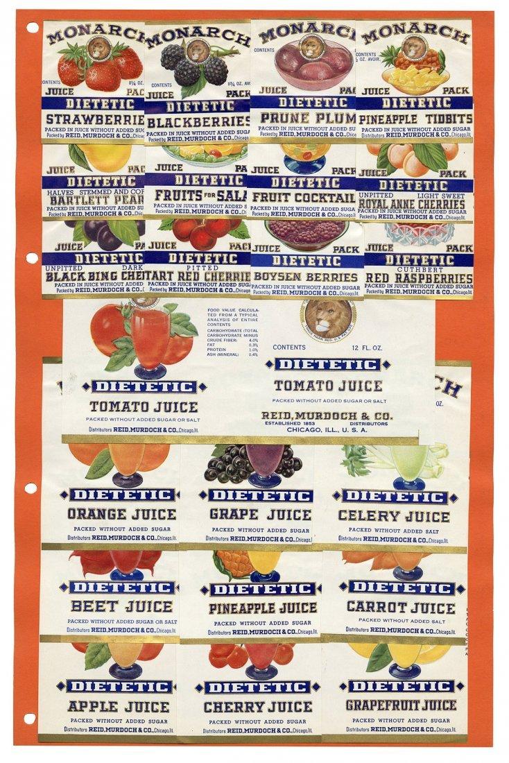 Monarch Finer Foods Salesman Sample Portfolio.