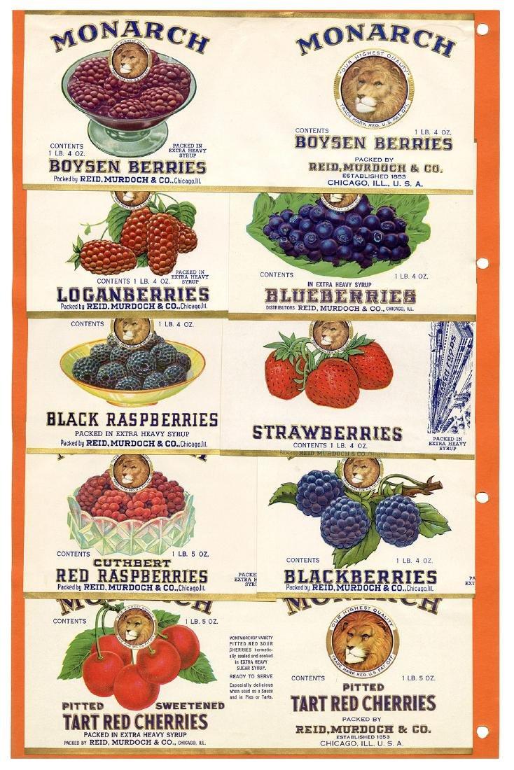 Monarch Finer Foods Salesman Sample Portfolio. - 7