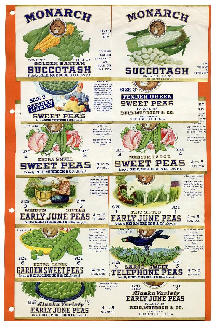 Monarch Finer Foods Salesman Sample Portfolio. - 8