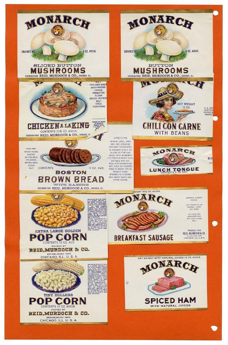 Monarch Finer Foods Salesman Sample Portfolio. - 9