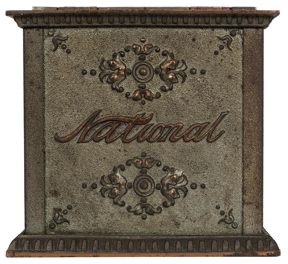 National Cash Register Cast Iron Receipt Box. - 2